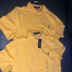 Yellow Polo Men's Shirt